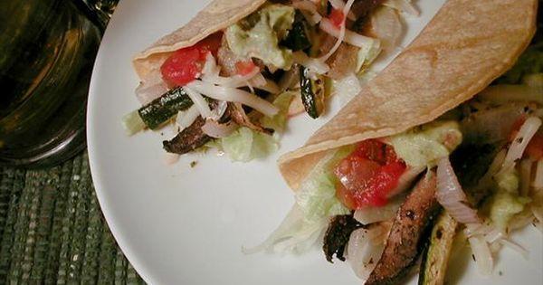 ... and Zucchini Tacos | Recipe | Zucchini, Tacos and Portobello