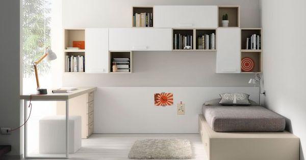 Cama tatami cajones escritorio y encimera dormitorios - Habitacion tatami ...
