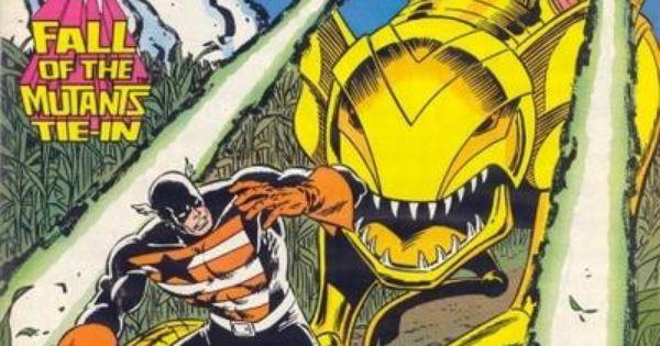 Captain America # 339 By Ron Frenz & Bob McLeod