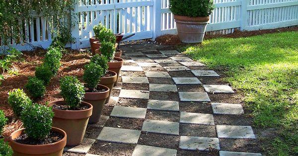 Checkerboard garden google search garden inspiration for Checkerboard garden designs