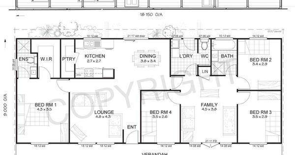 Metal Ranch House Floorplans