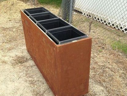 Rusty File Cabinet Cactus Planter With Images Filing Cabinet Cactus Planter File Cabinet Planter