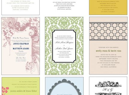 Yes, believe it. These pretties are all FREEBIES — printable invitation templates