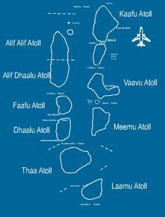 Maldives Atoll Map In 2020 Atoll Maldives World Travel Guide