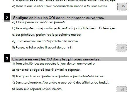 exercices cod et coi pdf