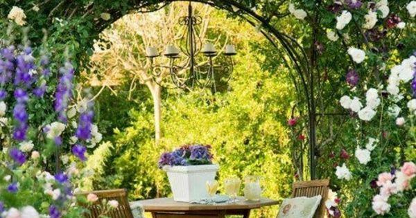 100 bilder zur gartengestaltung die kunst die natur zu modellieren romantische sitzecke. Black Bedroom Furniture Sets. Home Design Ideas