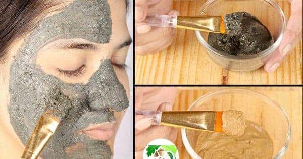 Pin On ماسك للوجه لإزالة الرؤوس السوداء والبثور والشعر من الوجه بمكونات طبيعية