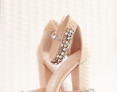 Dear bride and groom, if you decide to renew your vows in a few years I hope you have room for a few more guests. I know a several SMP staffers that might start | See more about Bridal Heels, Heels and Wedding Shoes.