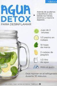 Agua de limon verde para adelgazar