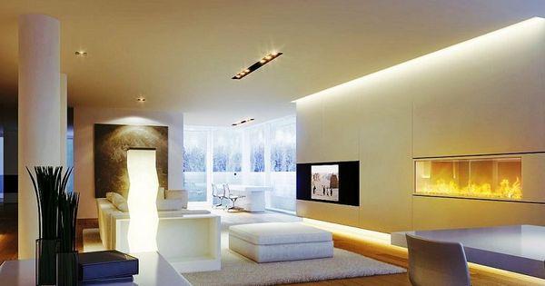... LED indirect - 55 idées tendance pour chaque pièce  Salons, LED et