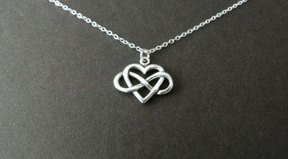 girlfriend gift infinity heart necklace best seller. Black Bedroom Furniture Sets. Home Design Ideas