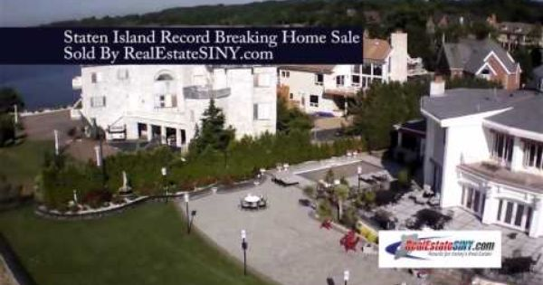 Nicolosi Dr Staten Island S Highest Priced Home Sale In History Realestatesiny Com Sale House Staten Island Staten Island Ferry