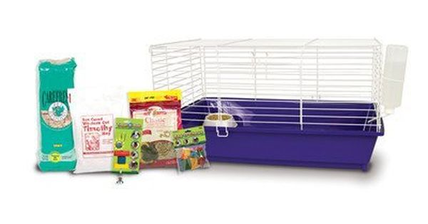 Ware Manufacturing Home Sweet Home Lm Guinea Pig Cage Starter Kit