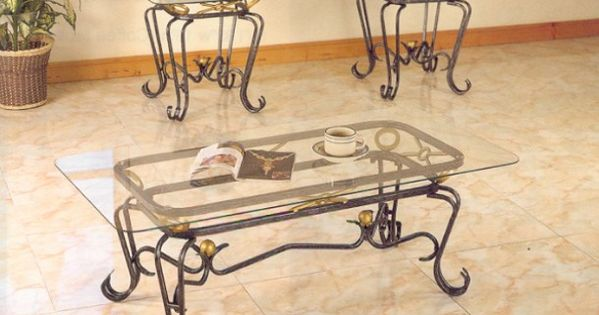 wrought iron coffee table with glass top   misc   pinterest   iron