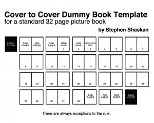 Here S A Template For A 32 Page Picture Book There Are Always Exceptions To The Rule Book Template Writing Picture Books Picture Book