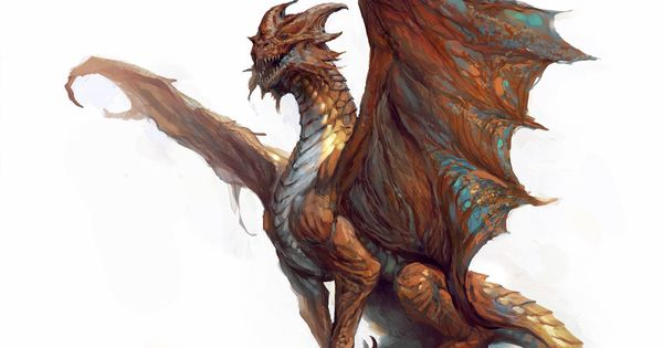 Dnd Copper Dragon: Dragons, Mythical