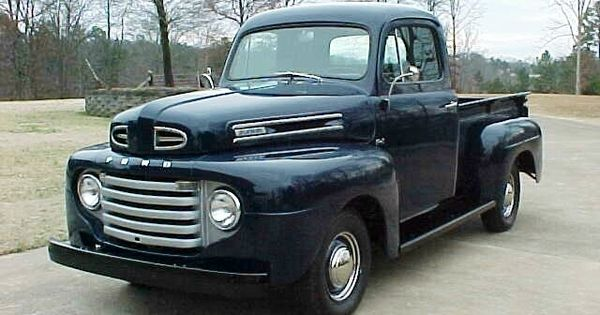 Ford Trucks Ford F1 Truck 1948 1952 History Pictures And