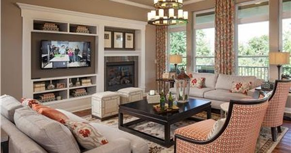 New Homes In Liberty Township The Serenity Model M I Homes Cincinnati Home Living Room Designs House Inspiration