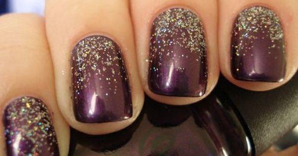 Holiday nail polish.