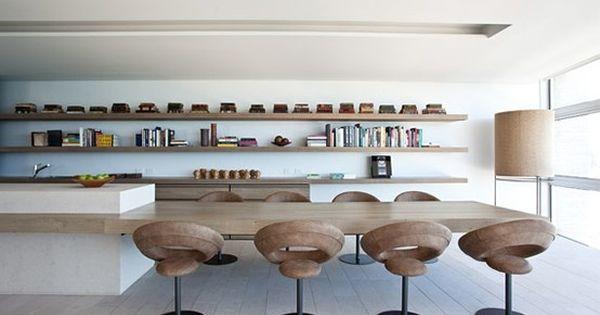 Keukeneiland eettafel in n keuken pinterest beautiful the shape and devoted to - Outs studio keuken ...