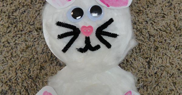 Bunny Craft foot print hand print