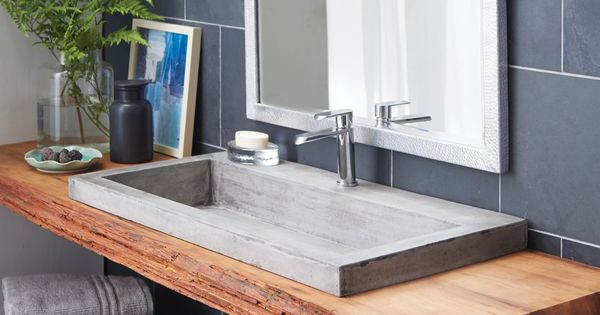 Unique custom floating bathroom sink and vanities for - Unique bathroom vanities for small spaces ...