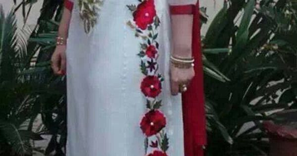 Multani embroidery designer wear dresses bridal
