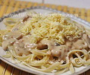 T Tunaandmushroompasta Tuna Pasta Recipe Tuna Carbonara Recipe Easy Pasta Recipes