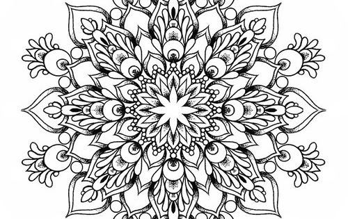 Lotus mandala tattoo with wave in the middle description for Tattoo artist job description