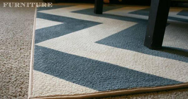 DIY Chevron : DIY chevron rug : DIY Crafts
