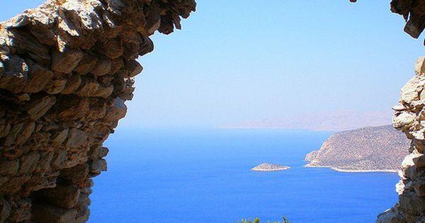 Monolithos - Rhodes, Greece. Amazing view.