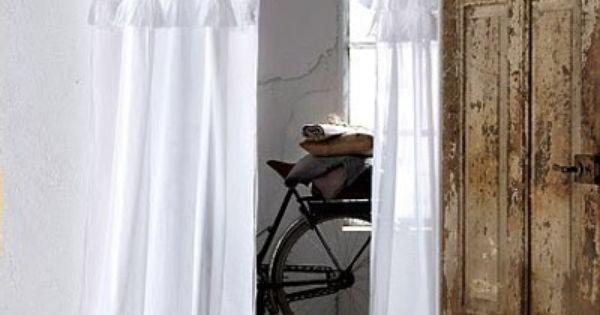 Vestida de volantes home decor pinterest volantes - Cortinas con volantes ...