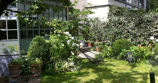 Jardin en ville xavier de chirac c t maison terrasses pinterest chirac en ville et - Terrasse et jardin en ville montpellier ...