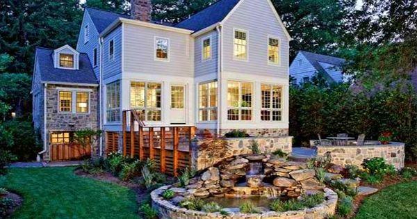 Gartenteich anlegen bilder und ideen f r eine kreative for Gartengestaltung landhaus