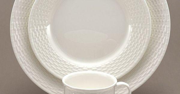 Nantucket Basket Weaving Patterns : Wedgwood dinnerware nantucket basket piece place