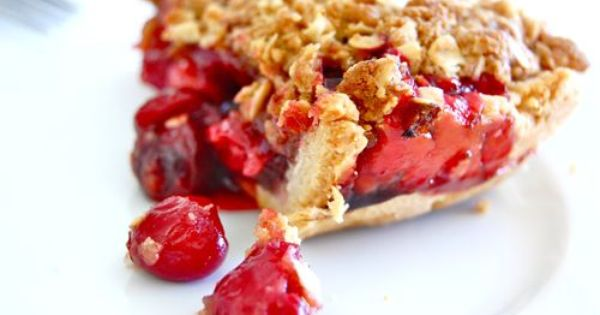 streusel cherry pie | Sweets | Pinterest | Cherry Pies, Sour Cherry ...