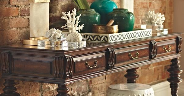 British Isle Console Table West Indies