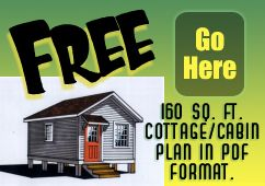 Easy To Build Cabin Plans Cabin Plans How To Plan Vintage House Plans