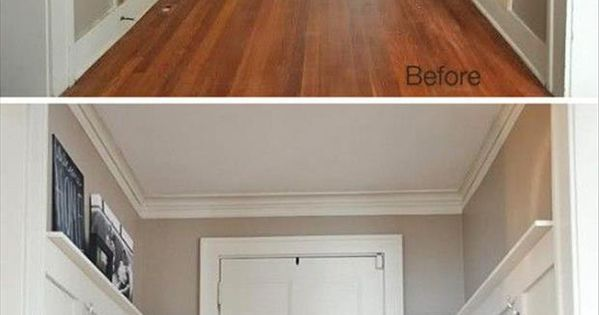 diy landhaus w nde haus pinterest selbermachen eingang und verkleidung. Black Bedroom Furniture Sets. Home Design Ideas