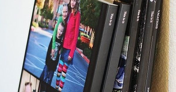 Blurb photo books Family Year Books- such a great idea!