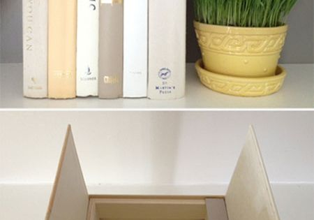 "DIY Decorating Ideas: These may look like old ""books"", but they actually"