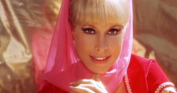 I Dream of Jeannie featuring the most beautiful woman in the world,