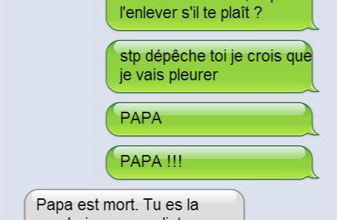 Les textos entre les parents et leurs enfants les plus drôles qui