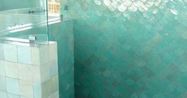 Idee per decorare le pareti del bagno - Bagno turchese  Decorare le pareti, Bagno turchese e Bagno