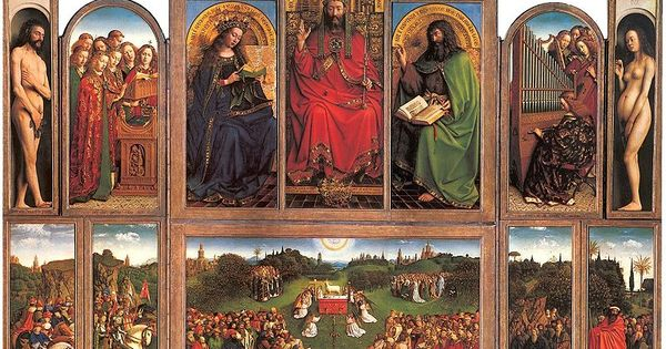 art history on altarpiece Altarpiece with center, side panels, and predella (predella = the base of an altarpiece especially : one containing decorated panels depicting scenes related to the main panel or panels merriam webster).