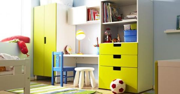 kinderzimmer ikea stuva regal schrank schreibtisch zuk nftige projekte pinterest. Black Bedroom Furniture Sets. Home Design Ideas