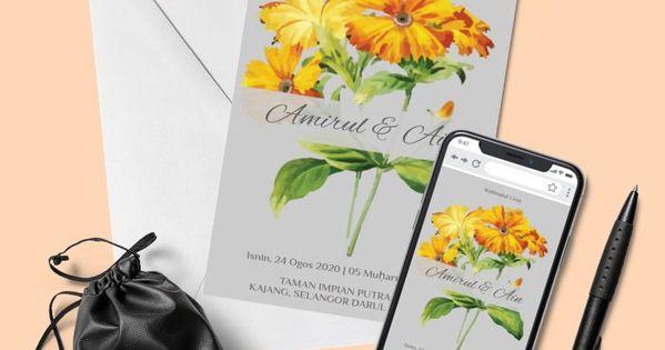 Design By Rajawali Online Invitations Kad Kahwin Invitations