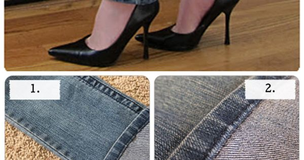 Complete Guest on How to Hem Jeans with original hem - Yes