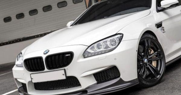 Bmw F06 F12 F13 M6 Front Lip Spoiler Set Carbon Fiber With