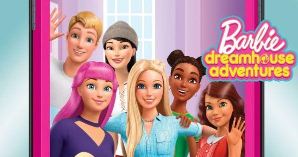 Barbie Dreamhouse Adventures Apk Mod Barbie Cartoon Barbie Dream House Barbie Life